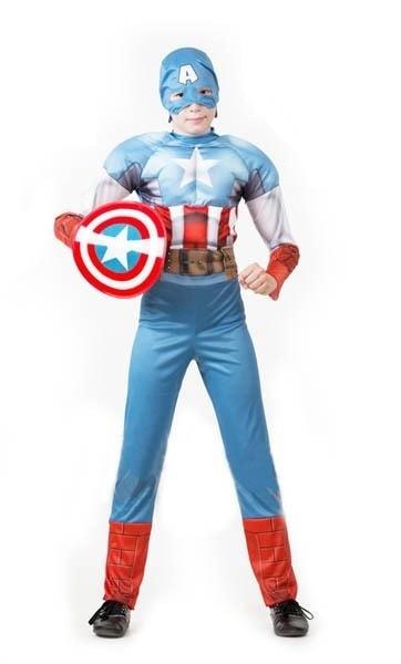 Костюм карнавальный детский Капитан Америка