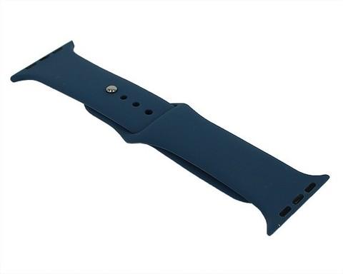 Ремешок для Apple Watch 42mm/44mm силиконовый | синий горизонт