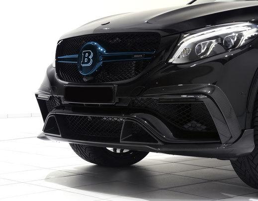 Карбоновая решетка радиатора для Mercedes GLE
