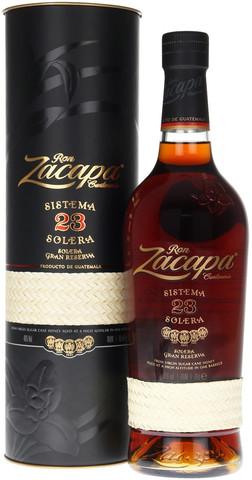 Ром Zacapa Centenario, Solera Gran Reserva 23 years, gift box, 0.7 л