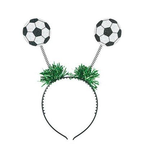 Ободок-антенки Футбольный мяч