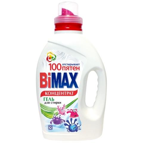 Гель д/стирки BiMAX 100 пятен 1,5 л Нефис РОССИЯ