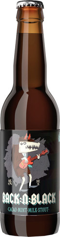 Бэк н Блэк (пивной напиток непастеризованный нефильтрованный неосветленный)