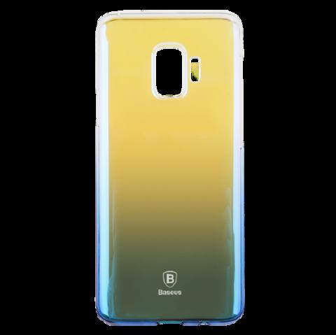 Чехол Baseus для Galaxy S9 серия Glaze | синий