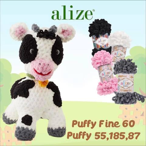 Alize Puffy Fine корова_1