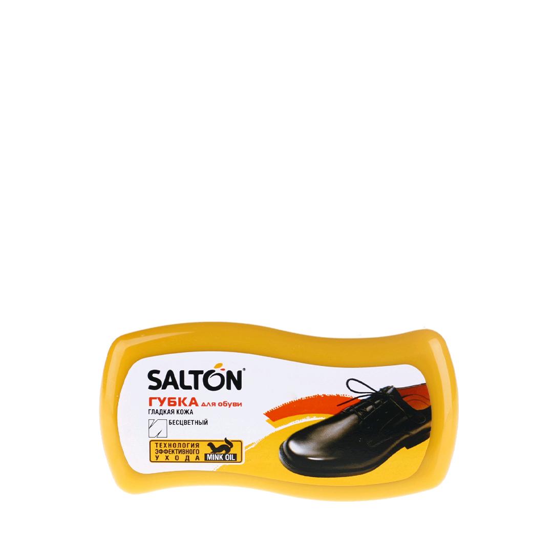 Salton Губка Волна для обуви из гладкой кожи Бесцветная