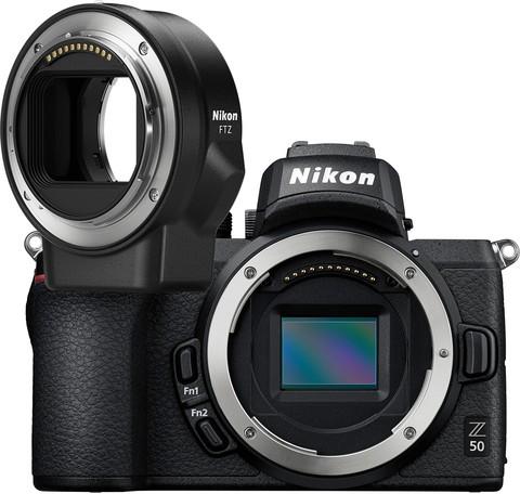 Фотоаппарат Nikon Z50 Body + FTZ