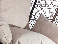 Подвесное кресло Z-03 (B) (цвет brown, подушка beige)
