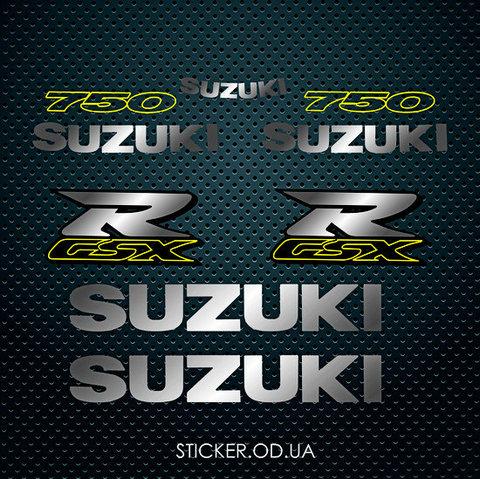 Набор наклеек Suzuki GSXR 750 1999