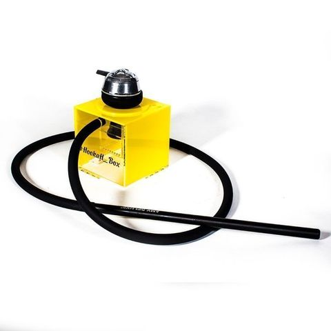 Кальян Hookah Box Желтый