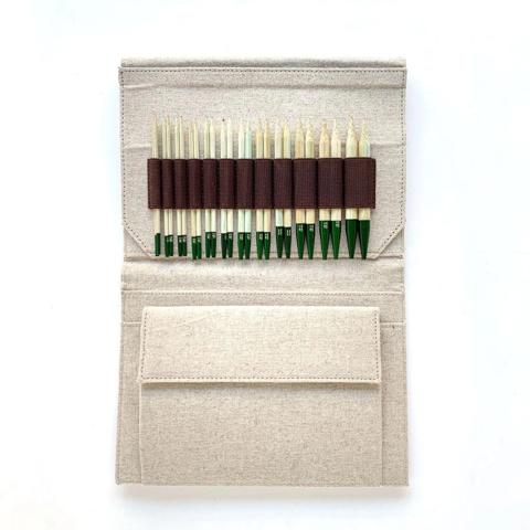 Набор бамбуковых разъемных спиц Lykke GROVE BEIGE 11,5