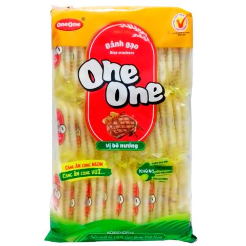 Рисовые крекеры со вкусом говядины One One - Коробка 20х150 гр.