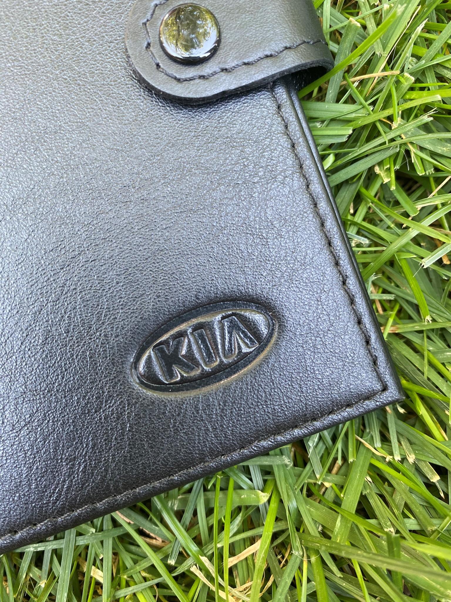 Портмоне для автодокументов и паспорта KIA