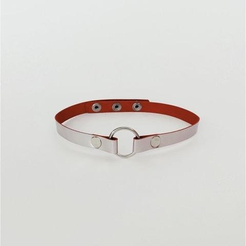 Isy Mo Чокер с маленьким кольцом (розовый перламутр)