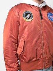 Бомбер Alpha Industries MA-1 NASA Rust/Sage