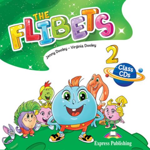 Flibets 2. Class CDs (set of 2). Аудио CD для работы в классе (2 шт.)