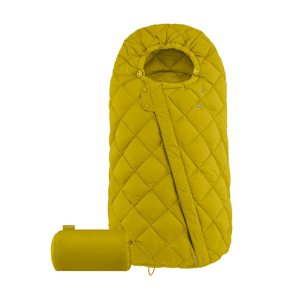 Теплые конверты для коляски Cybex Теплый конверт в коляску Cybex Snogga Mustard Yellow 10403_1_95-Sn-gga-Design-Mustard-Yellow.jpg