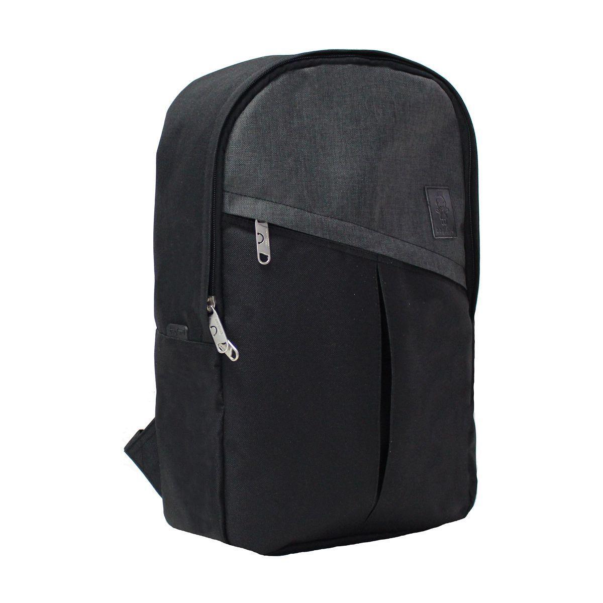 Городские рюкзаки Рюкзак Bagland Must 14 л. Чёрный (0010666) _002__IMG_1417.jpg