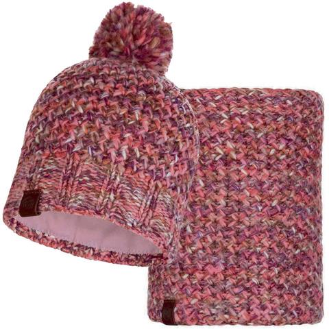 Комплект шапка-шарф Buff Margo Flamingo Pink фото 1