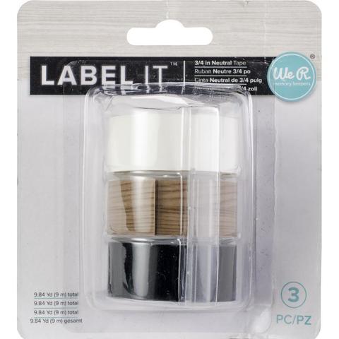 Сменная лента для печати этикеток-  We R Memory Keepers LabelIT .75