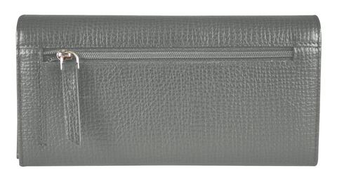Кошелек Cross RTC, кожа наппа, серый, 20x11x2,5 см