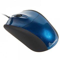 Мышь проводная SBM-325-B синий SMARTBUY
