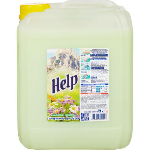 Кондиционер для белья Help Альпийская свежесть 5 кг