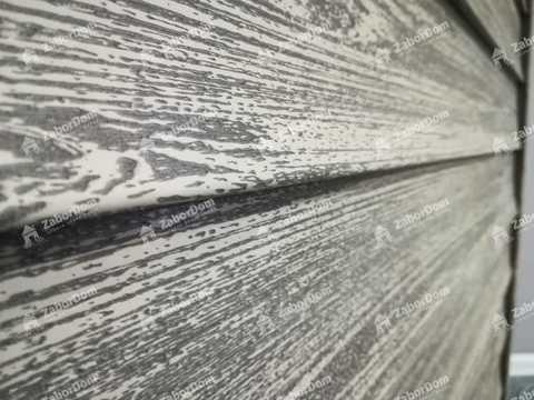 Сайдинг Ю пласт Тимберблок акриловый альпийская ель 3050х230 мм
