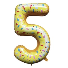 Y Фигура Цифра 5 Пончик 40