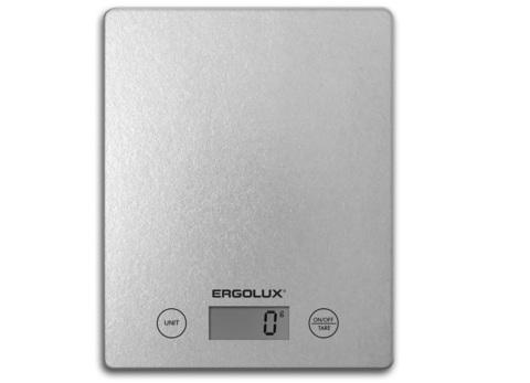 Весы кухонные Ergolux ELX-SK02-С03 серый