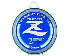 Леска Sunline SUPER Z 50m Clear #1.2/0.185mm 2.77kg
