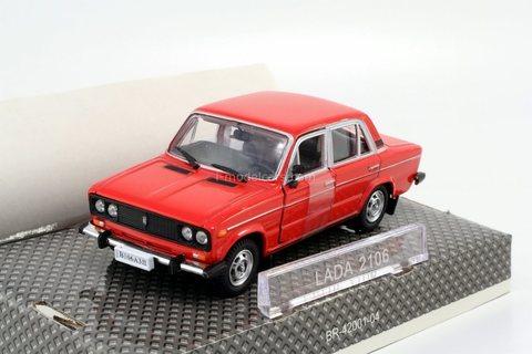 VAZ-2106 Lada red Autobahn Bauer Cararama 1:43