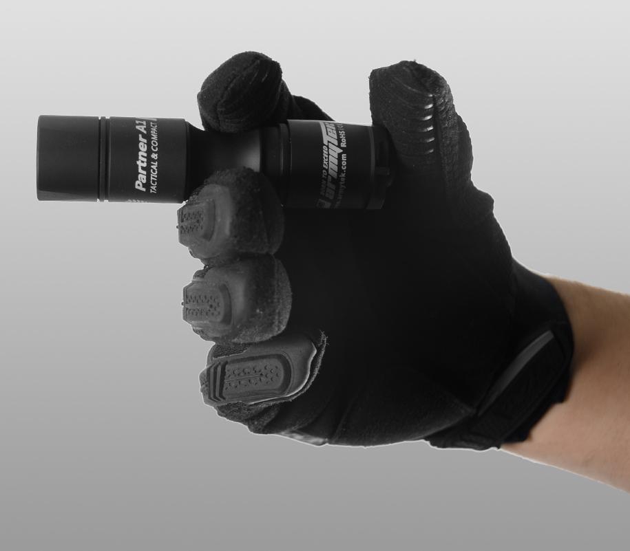 Тактический фонарь Armytek Partner A1 (тёплый свет) - фото 3