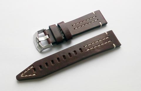 Ремешок кожаный для часов Восток Европа Ракета№1 225A615 и 225А618