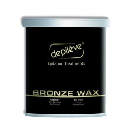 Воск бронзовый BRONZE WAX Depileve, 800 гр.