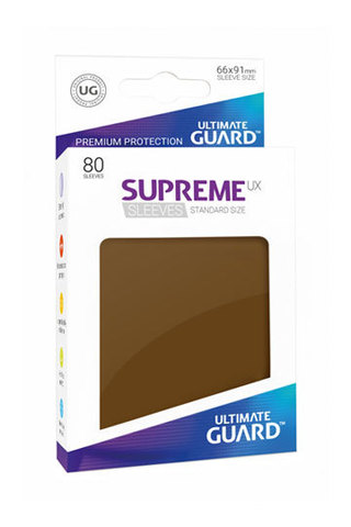 Supreme Sleeves Standard Size Brown (UX)