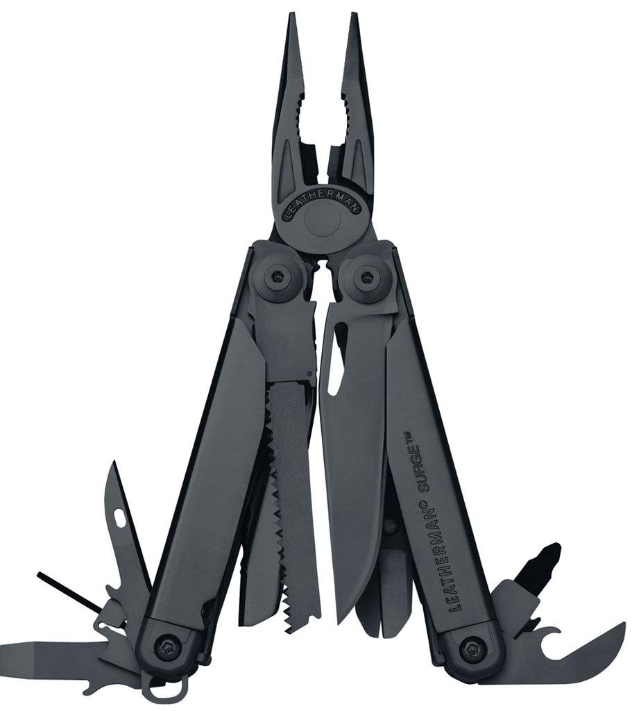 Мультитул Leatherman Surge Black нейлоновый чехол