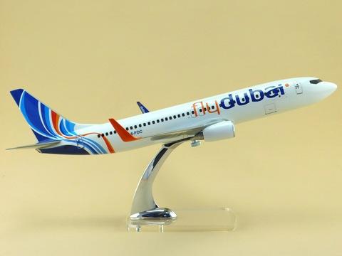 Модель самолета Boeing 737-800 (М1:100 Fly Dubai)