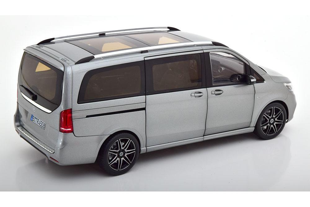 Коллекционная модель MERCEDES-BENZ W447 V-CLASS AMG-LINE 2018 GREY METALLIC