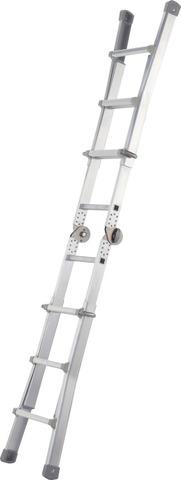 Универсальная телескопическая лестница из 4 частей
