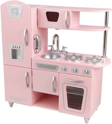 KidKraft Винтаж Vintage (розовая) - детская кухня 53179