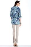 Блузка для беременных 07431 синий
