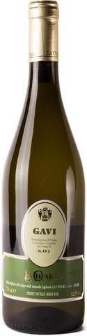 Вино La Chiara, Gavi DOCG del Comune di Gavi, 0.75 л