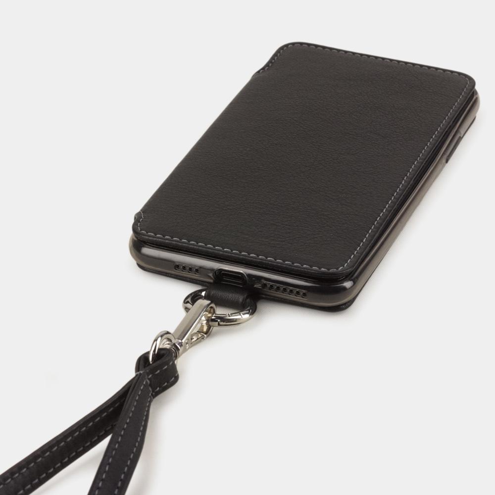 Чехол Marcel для iPhone 11 Pro из натуральной кожи теленка, черного цвета