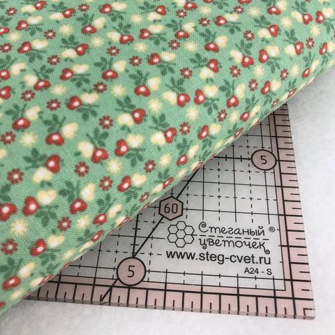 Ткань для пэчворка, хлопок 100% (арт. X0509)