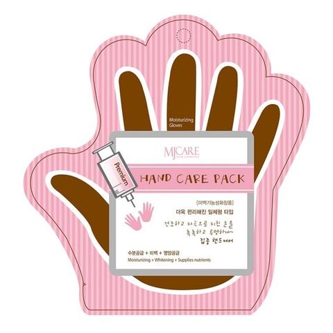 Mijin Premium Hand Care Pack маска для рук с гиалуроновой кислотой и коллагеном