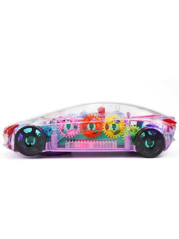 Прозрачная машинка с шестеренками Concept Racing