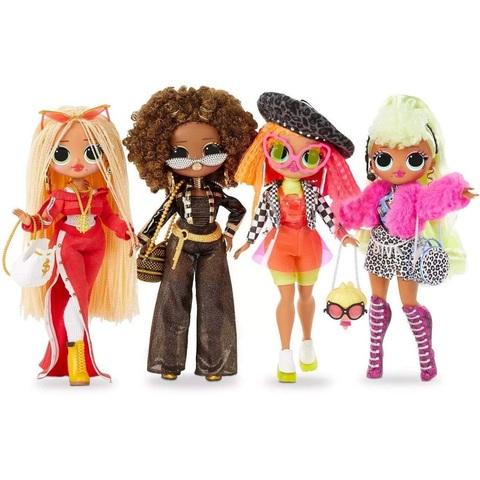 Набор из 4 кукол ЛОЛ ОМГ 1 серии