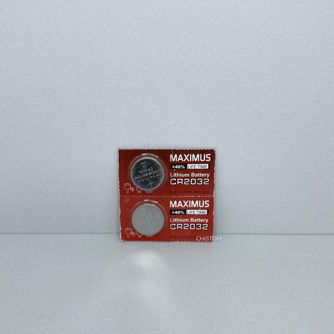 Батарейка Maximus CR2032 3V lithium