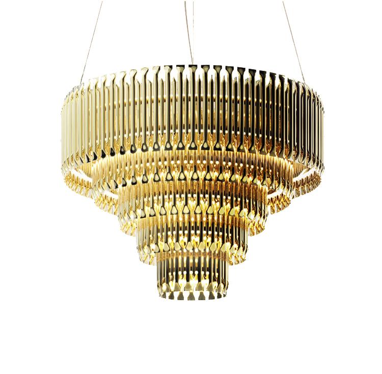 Подвесной светильник копия Matheny by Delightfull (5 уровней)